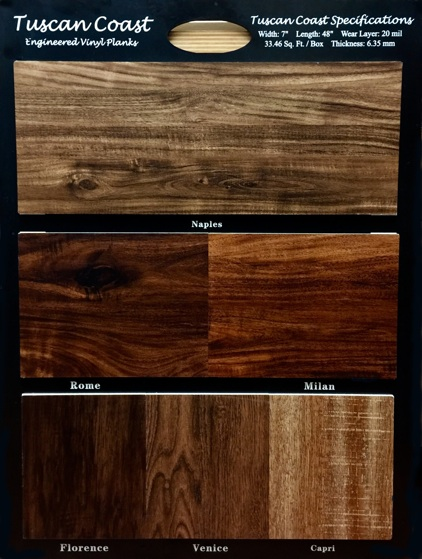 Tuscan Coast Luxury Vinyl Plank Collection Miami Broward