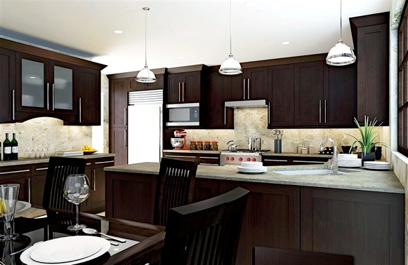 Wood Kitchen Cabinets Woodtrends Series